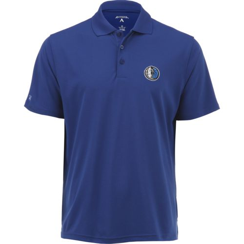 Antigua Men's Dallas Mavericks Pique Xtra-Lite Polo Shirt