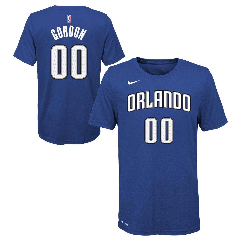 New Nike Boys' Orlando Magic Aaron Gordon 00 Icon T-shirt supplier