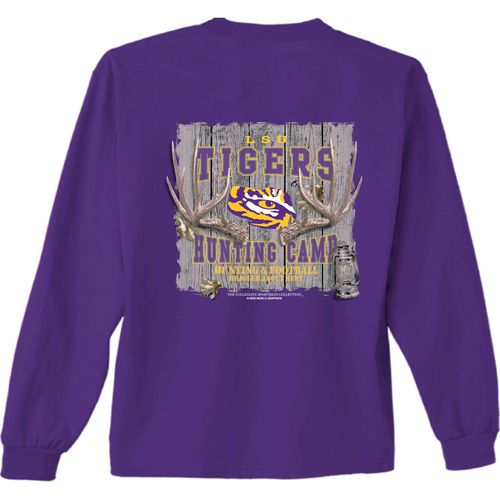 New World Graphics Men's Louisiana State University Hunt Long Sleeve T-shirt