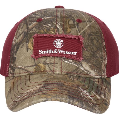 Smith & Wesson Women's Realtree Xtra Frayed Logo Cap