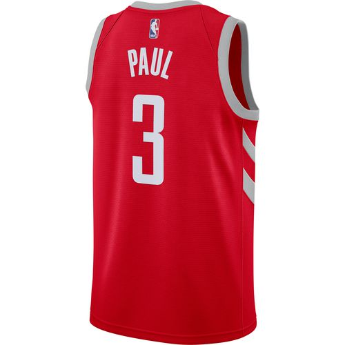 Rockets Zhou Qi Injury: Nike Men's Houston Rockets Chris Paul 3 Swingman Jersey