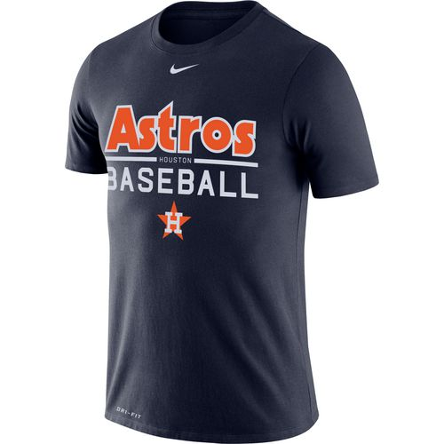 Nike Men's Houston Astros Dri-FIT Cooperstown Practice T-shirt