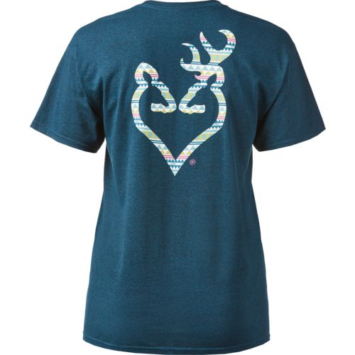 Browning Women's Classic Native Buckheart T-shirt - view number 2