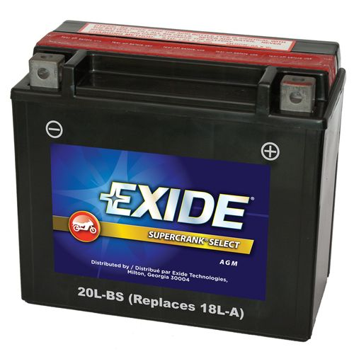 Exide Supercrank Select 12 volt Premium VRALA AGM Battery - view number 1