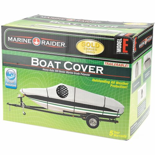 Marine Raider Gold Series Model E Boat Cover For 20' - 22' V-Hull Runabouts And V-Hull Pro-Style Bas - view number 2