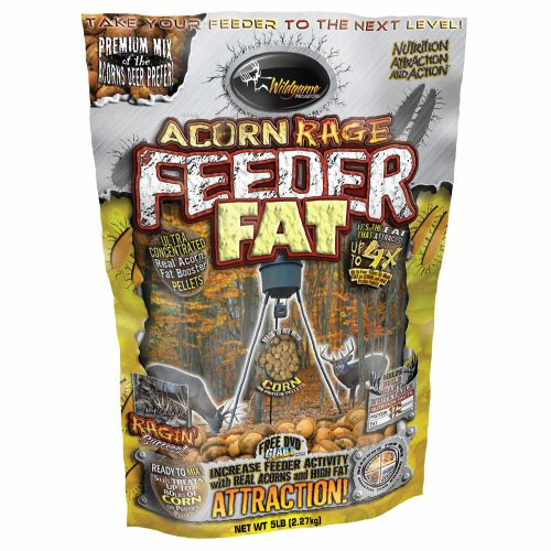 Display product reviews for Wildgame Innovations Acorn Rage Feeder Fat™ 5 lb. Deer Attractant