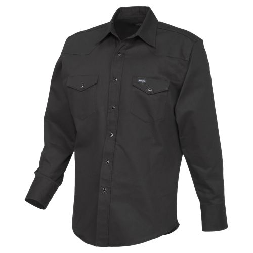 Wrangler Men's Cowboy Cut Long Sleeve Shirt
