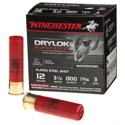 Winchester Super-X Drylok Super Steel™ Waterfowl Load 12