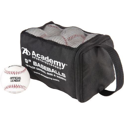 "Academy Sports and Outoors 9"" Baseballs 12-Pack"