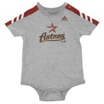 adidas Infants' Houston Astros Creeper and Short Set