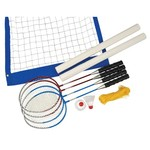 Triumph Sports USA Superior Badminton/Volleyball Set