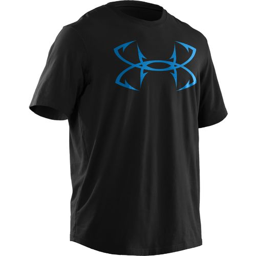 Academy under armour men 39 s heatgear ua hook logo for Under armor fishing shirt