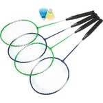 Superior 4-Player Badminton Racquet Set - view number 1