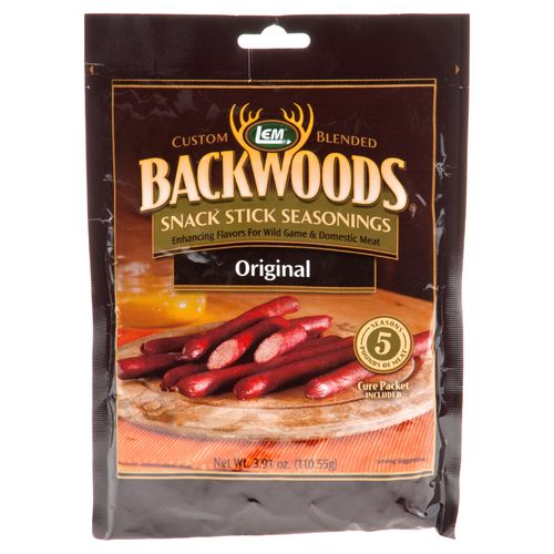 Display product reviews for LEM Backwoods Snack Stick Seasoning