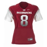 Nike Women's University of Arkansas Football Replica Jersey