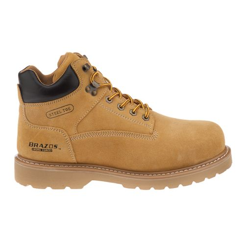 "Brazos® Men's Dane 6"" Steel Toe Work Boots"