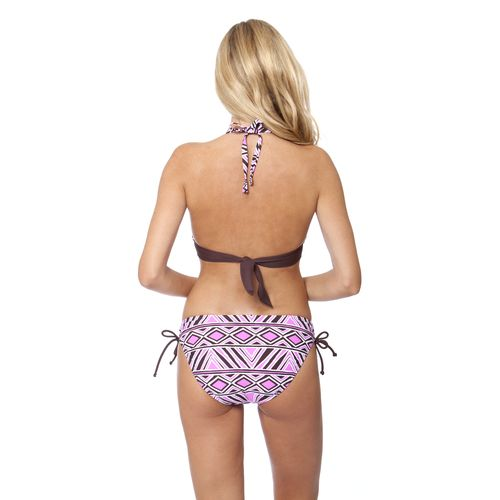 Aqua Couture Women's Tribal Finds Keyhole Halter Swim Top - view number 2