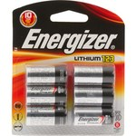 Energizer® CR123 Lithium Batteries 6-Pack - view number 1