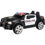 KidTrax Boys' Dodge Charger Police Car 12V Ride-On Vehicle