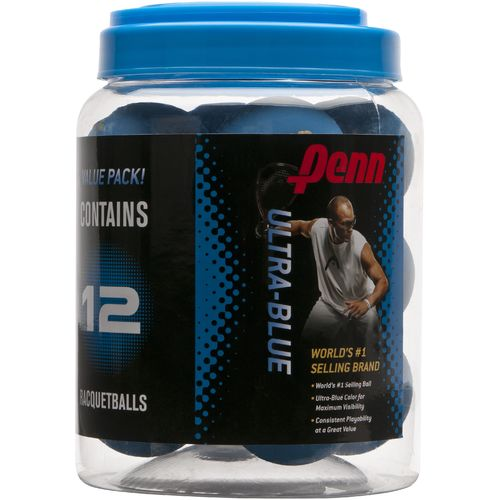 PENN® Ultra-Blue Racquetballs 12-Pack