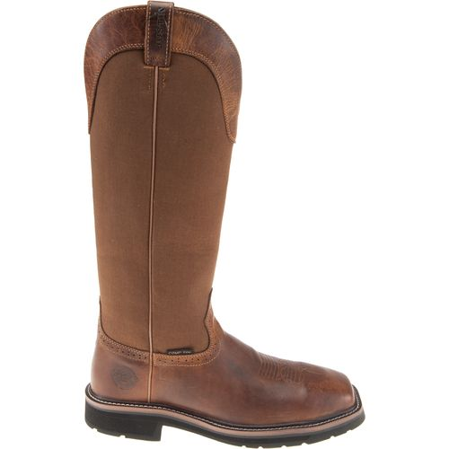 Display product reviews for Justin Men's Stampede Wellington Steel Toe Snake Boots