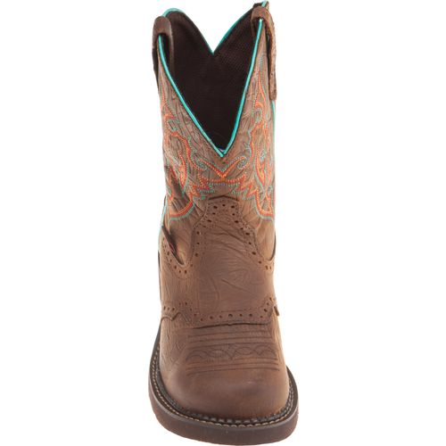 Justin Women's Gypsy® Barnwood Cowhide Western Boots - view number 3