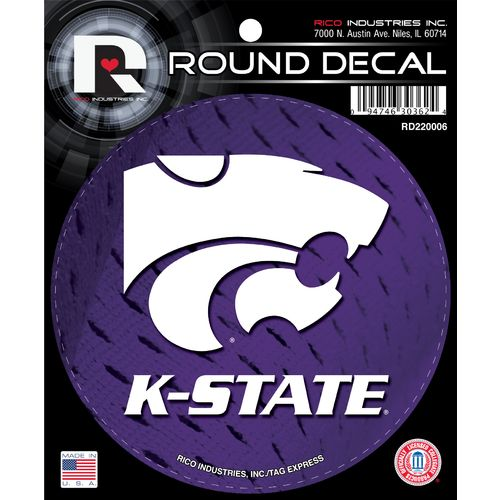 Tag Express Kansas State University Round Decal - view number 1