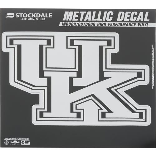 Stockdale University of Kentucky Metallic Vinyl Die-Cut Decal