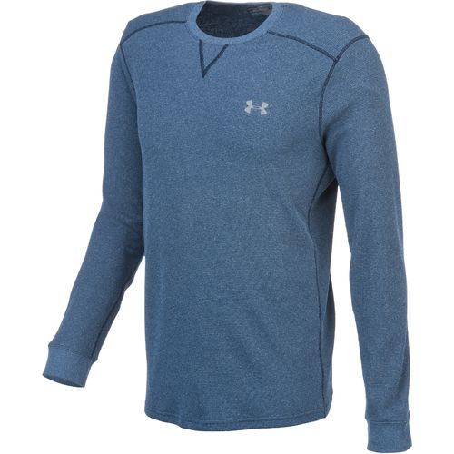 Under armour men 39 s heatgear amplify thermal crew shirt for Academy under armour shirts