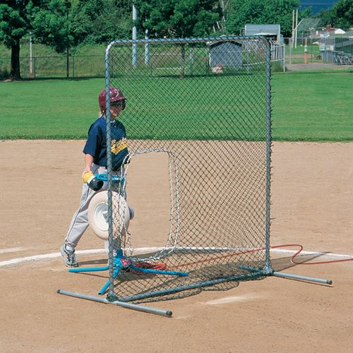 JUGS Travel Ball Quick-Snap® 6.5' x 6' Softball Pitching Screen