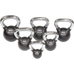 Body-Solid Tools Premium 5 - 30 lb. Kettlebell Set with Rack