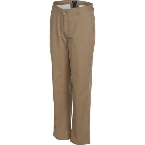 Austin Trading Co. Boys' School Uniform Flat Front Twill Pant