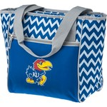 Logo Chair University of Kansas 16-Can Cooler Tote