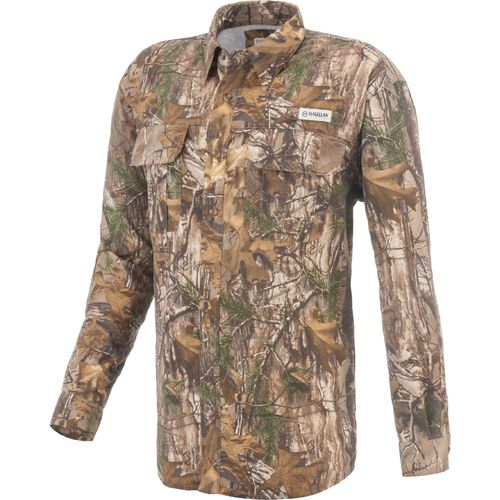 Display product reviews for Magellan Outdoors Men's Laguna Madre Camo Fishing Shirt