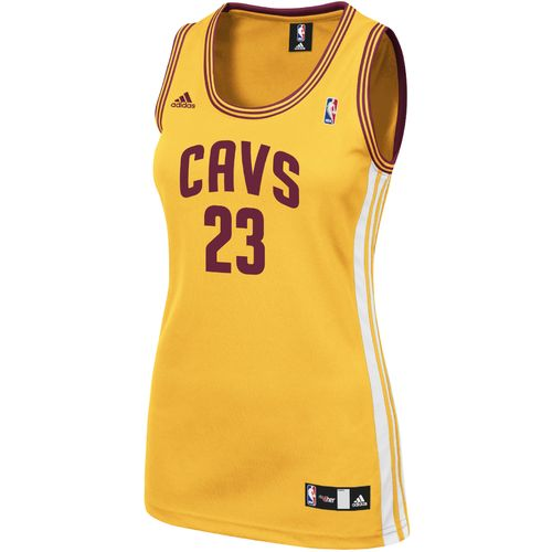 adidas Women's Cleveland Cavaliers LeBron James No. 23 Replica Jersey