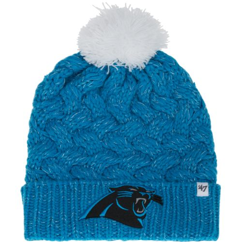 '47 Women's Carolina Panthers Gameday Fiona Cuff Knit Cap