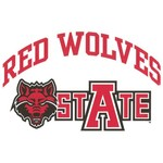 "Stockdale Arkansas State University 8"" x 8"" Vinyl Die-Cut Decal"