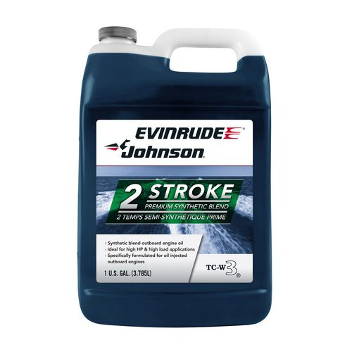 Display product reviews for Evinrude Johnson 1-Gallon Premium TC-W3® Semi-Synthetic Oil