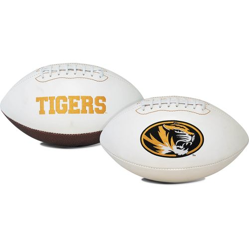 Jarden Sports Licensing University of Missouri Signature Series Full Size Football with Autograph Pe - view number 1