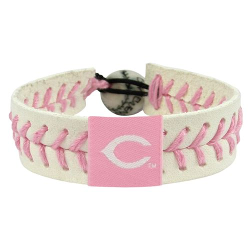 GameWear Adults' Cincinnati Reds Baseball Bracelet