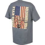 Club Red Men's Chris Kyle Frog Foundation Flag T-shirt