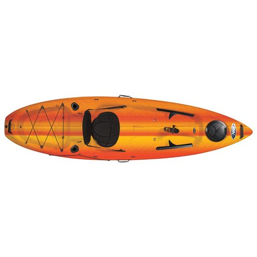 Display product reviews for Pelican Icon 100X Angler 10' Sit-on-Top Fishing Kayak
