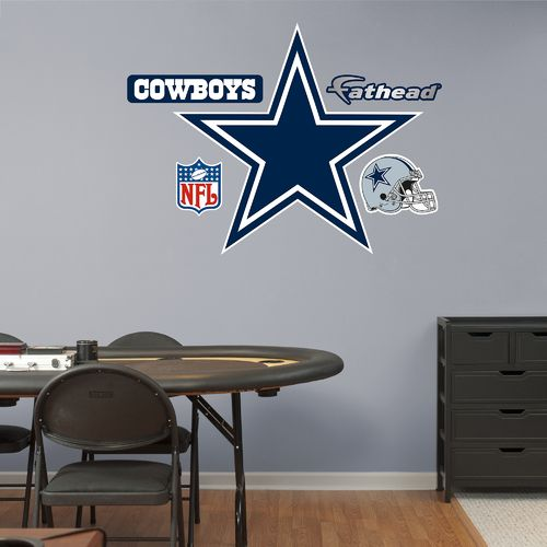 Fathead Dallas Cowboys Logo and Team Decals 5-Pack