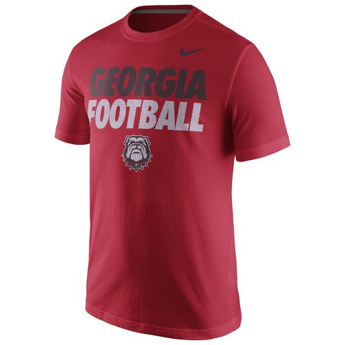 Nike™ Men's University of Georgia Practice T-shirt
