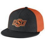Nike Men's Oklahoma State University Players True Swoosh Flex Cap