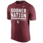 Nike Men's University of Oklahoma Legend Local Verbiage T-shirt