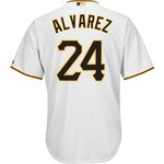 Majestic Men's Pittsburgh Pirates Pedro Ã?lvarez #24 Cool Base® Jersey