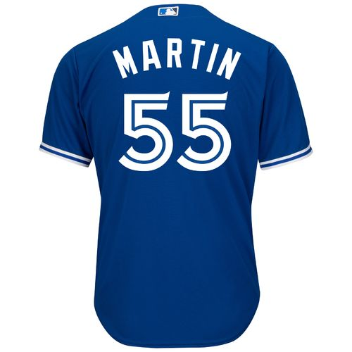 Majestic Men's Toronto Blue Jays Russell Martin #55 Cool Base Replica Jersey