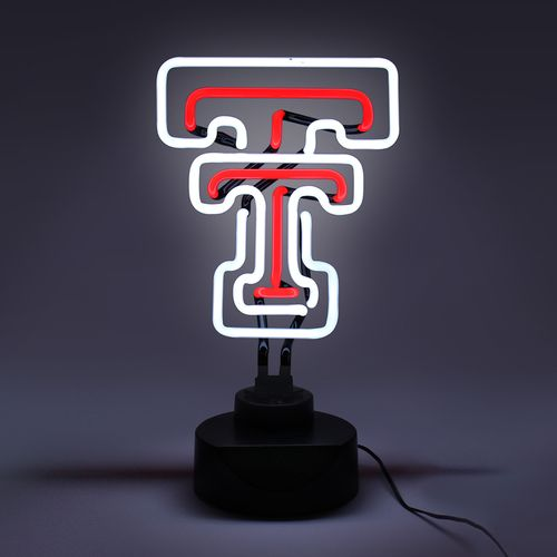 AES Optics Texas Tech University Tabletop Neon Light