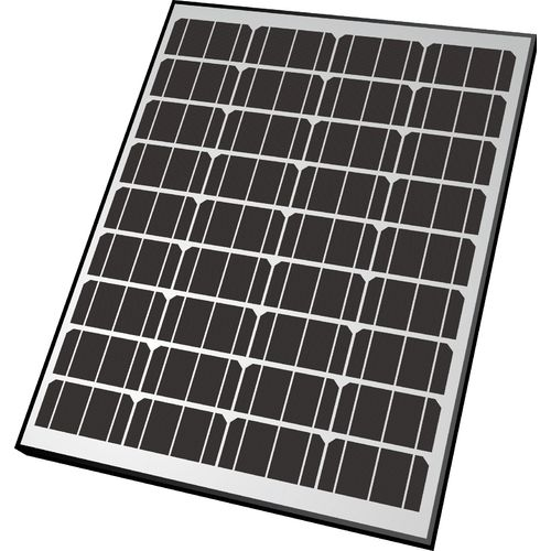 Nature Power 65W Monocrystalline Solar Panel 12V Battery